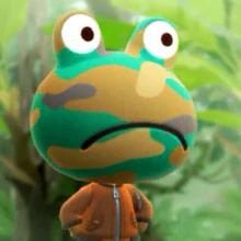 Comando Animal Crossing Rana