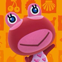 Nenufar Animal Crossing Rana