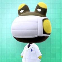 Radiolo Animal Crossing Rana