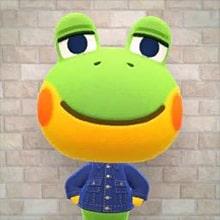 Saperto Animal Crossing Rana