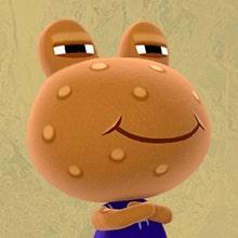 Saponcio Animal Crossing Rana