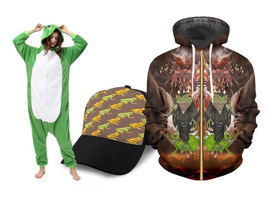 Ropa y accesorios de anfibios