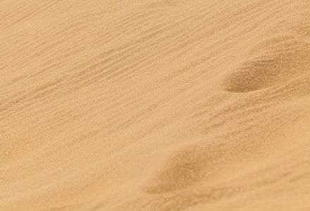 arena desertica sustrato