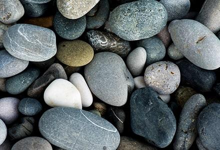 sustrato piedras lisas